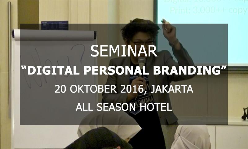 """GRATIS Full Video Seminar """"Digital Personal Branding"""""""