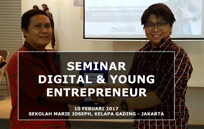 Report: Seminar Digital & Young Entrepreneur, Marie Joseph