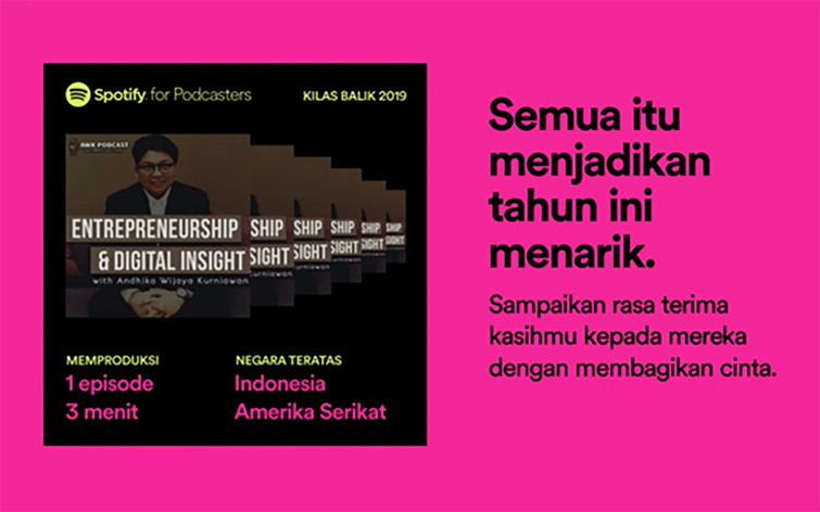AWK Notes: Kilas Balik AWK Podcast 2019 – Spotify